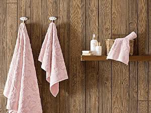 Купить полотенце Tivolyo Baroc, коричневый