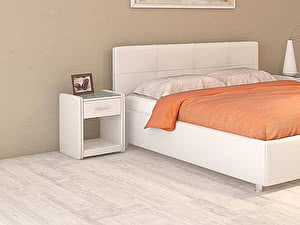 Купить кровать Moon Trade Птичье гнездо Модель 381 (экокожа) с подъемным механизмом 180х200