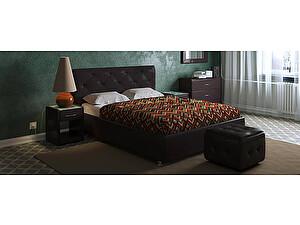 Купить кровать Moon Trade Монблан Модель 383 (экокожа) с основанием
