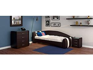 Купить кровать Moon Trade Кальвет (левая) Модель 387