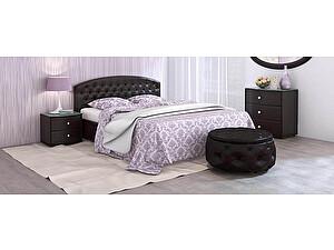 Купить кровать Moon Trade Пальмира Модель 380 (экокожа) с подъемным механизмом