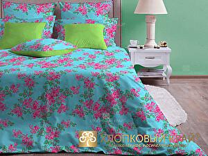 Постельное белье Хлопковый край Виолетта, бирюза