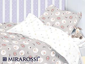 Детское постельное белье Mirarossi Amici grey