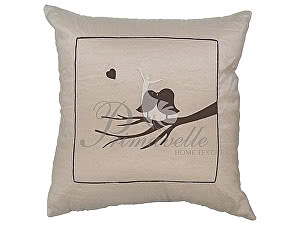 Декоративная подушка Primavelle Птичка с сердечком