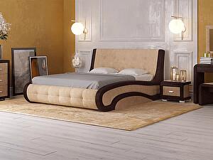 Купить кровать Орма - Мебель Leonardo с подъемным механизмом (ткань бентлей) 200х200