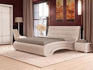 Купить кровать Орма - Мебель Leonardo (ткань бентлей) 200х190