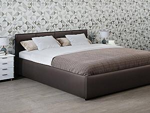 Купить кровать Moon Trade Прима 140 Модель 1200 (коричневый) с подъемным механизмом