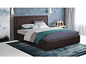 Купить кровать Moon Trade Паола 140 Модель 1201 (коричневый) с подъемным механизмом