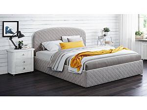 Купить кровать Moon Trade Аллегра 140 Модель 1204 (серый) с подъемным механизмом