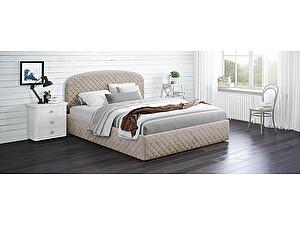 Купить кровать Moon Trade Аллегра Модель 1204 (велюр) с подъемным механизмом