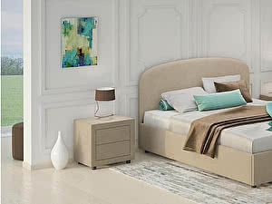 Купить кровать Moon Trade Лия Модель 1205 с подъемным механизмом 140х200