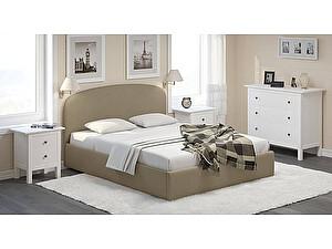 Купить кровать Moon Trade Лия 140 Модель 1205 с подъемным механизмом (бежевый)