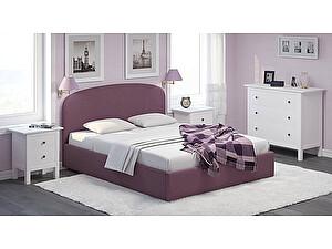 Купить кровать Moon Trade Лия 140 Модель 1205 с подъемным механизмом (фиолетовый)