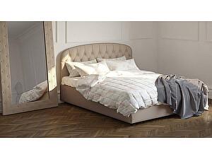 Купить кровать Moon Trade Бьянка 160 Модель 1207 (бежевый) с подъемным механизмом