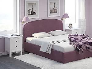 Купить кровать Moon Trade Лия 140 Модель 1205 с основанием (фиолетовый)