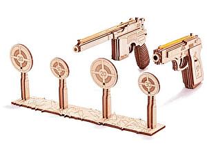 Купить конструктор Wood Trick Набор пистолетов с мишенью