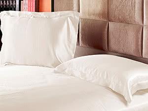 Купить наволочку Luxe Dream Оксфорд 50х70, с ушками, айвори
