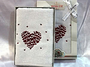 Купить полотенце Maison d'Or Amaur 50х90 см в коробке