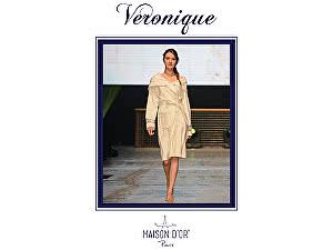 Купить халат Maison d'Or Veroniqe женский с капюшоном