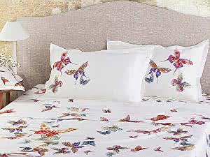 Постельное белье Mirabello Butterfly White