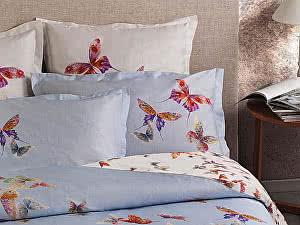Постельное белье Mirabello Butterfly Blue