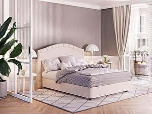 Купить кровать Орма - Мебель Изголовье Kapella с основанием Raibox (экокожа цвета люкс)