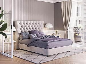 Купить кровать Орма - Мебель Изголовье Brooklyn с основанием Raibox с ПМ (ткань бентлей)
