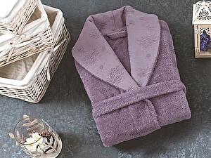 Купить халат Sofi De Marko Blenda махровый, светлая лаванда