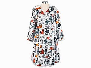 Купить халат Feiler Cats