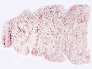 Купить коврик Arya Orion, искусственный мех розовый