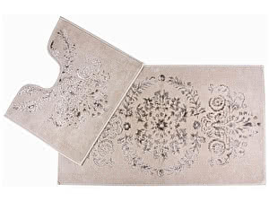 Купить коврик Arya Luxor, бежевый (2 предмета)