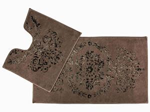 Купить коврик Arya Luxor, коричневый (2 предмета)