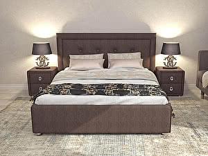 Купить кровать Perrino Римини с решеткой