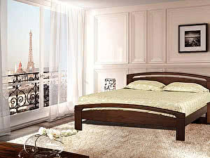 Купить кровать Диамант-М Мальта-3 (эмаль/кракле)