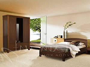 Купить кровать Диамант-М Руно-9 (эмаль/кракле)
