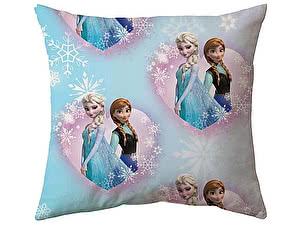 Купить подушку Непоседа Холодное сердце, Анна и Эльза 45х45