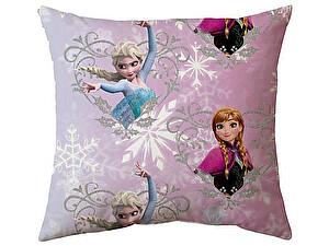Купить подушку Непоседа Холодное Сердце, сестры 45х45