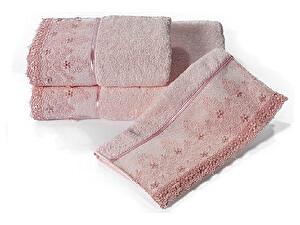 Купить полотенце SoftCotton Selen 85х150 см, розовый