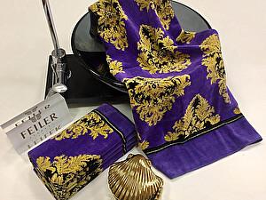 Купить полотенце Feiler Sanssouci Violett 75х150 см