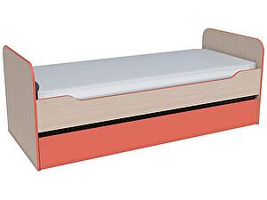 Купить кровать Сильва Рико НМ 014.43.00  выкатная (аква, коралл)