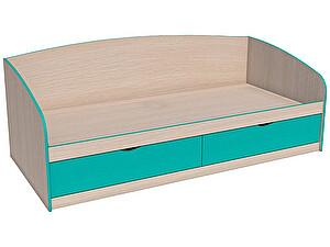 Купить кровать Сильва Рико НМ 008.63-01 (аква, коралл)