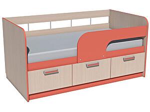 Купить кровать Сильва Рико НМ 039-03 (аква, коралл) 80х160