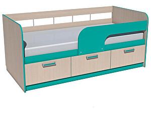 Купить кровать Сильва Рико НМ 039-04 (аква, коралл)