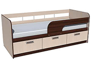 Купить кровать Сильва Рико НМ 039-05 (венге магия) 80х200