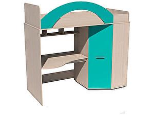 Купить кровать Сильва Рико ИЧП 15-01М1 (аква, коралл)