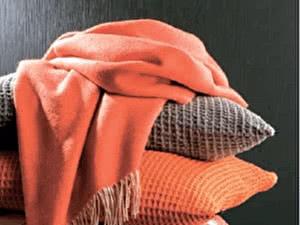 Купить плед Blanc des Vosges Katmandou Orange