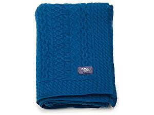 Купить плед Blanc des Vosges Torsades Bleu