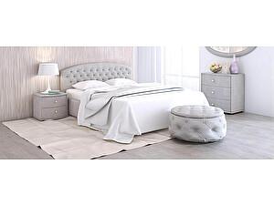 Купить кровать Moon Trade Пальмира Модель 380 (рогожка) с подъемным механизмом