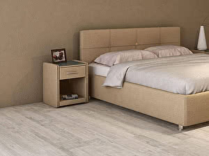 Купить кровать Moon Trade Птичье гнездо Модель 381 (рогожка) с подъемным механизмом