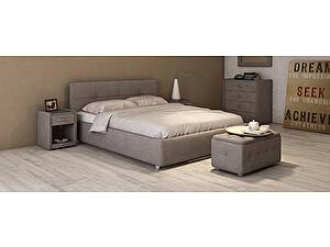 Купить кровать Moon Trade Птичье гнездо Модель 381 (рогожка) с основанием